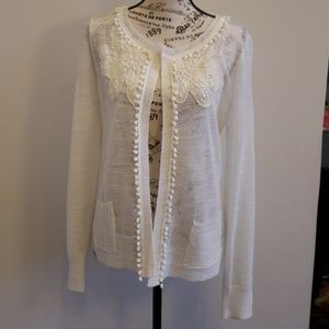 Anthropologie Knitted & Knotted open ca